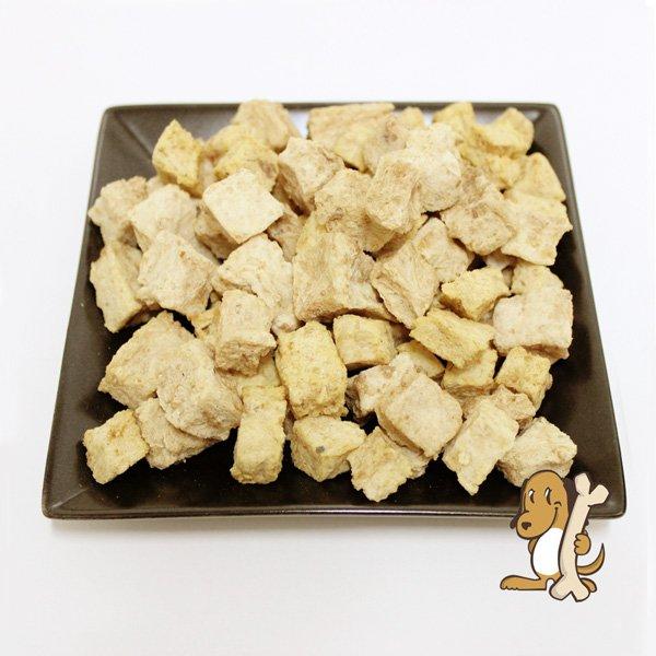 画像1: 【国産無添加】銚子産サメ肉のダイス 犬おやつ・猫おやつ (1)
